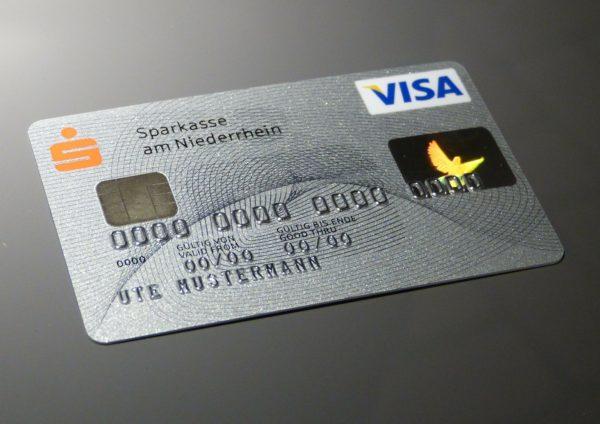 クレジットカードアカウント認証