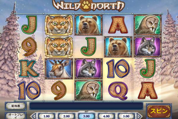 インターカジノ スロット Wild North