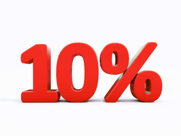 DORA麻雀 レーキ 10%